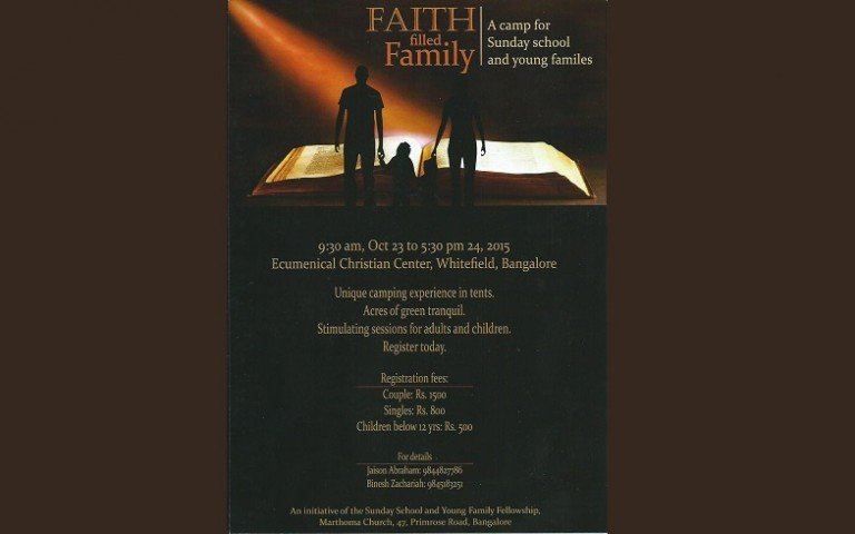YFF-Sunday School Camp