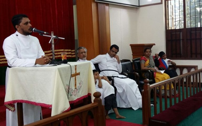 Rev. Saju Samuel send off-Parish