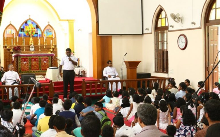 Worship Service by SS-VBS Students