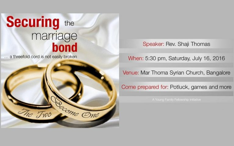 Securing the Marriage Bond