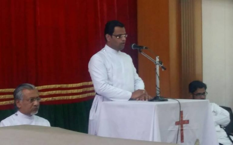Rev. Sujith Sam Mammen send off